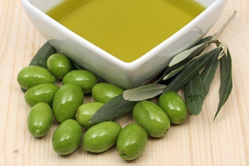 Ванночка с оливковым маслом