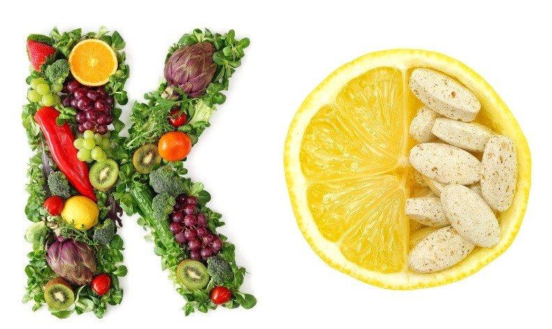 Витамины К и C