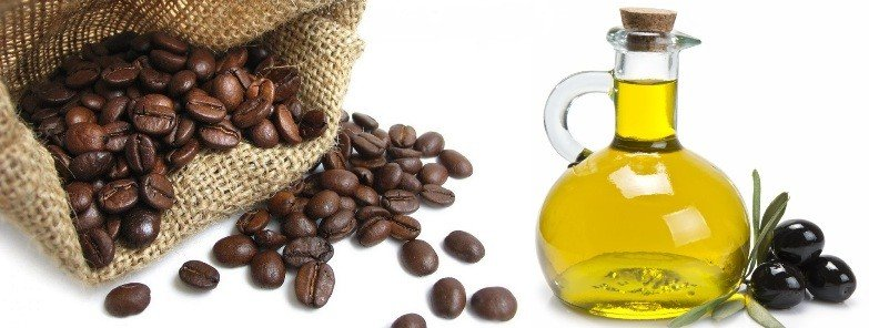 Кофе и оливковое масло