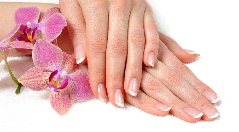 Крепкие, ухоженные ногти