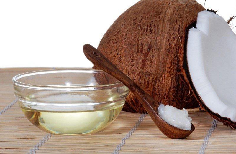 Жидкое масло кокосоа и баттер