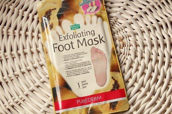 Отшелушивающая маска для ног