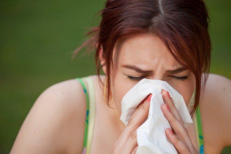 Аллергия – одна из причин отечности глаз