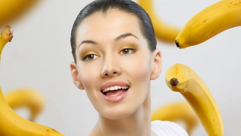 Бананы и девушка