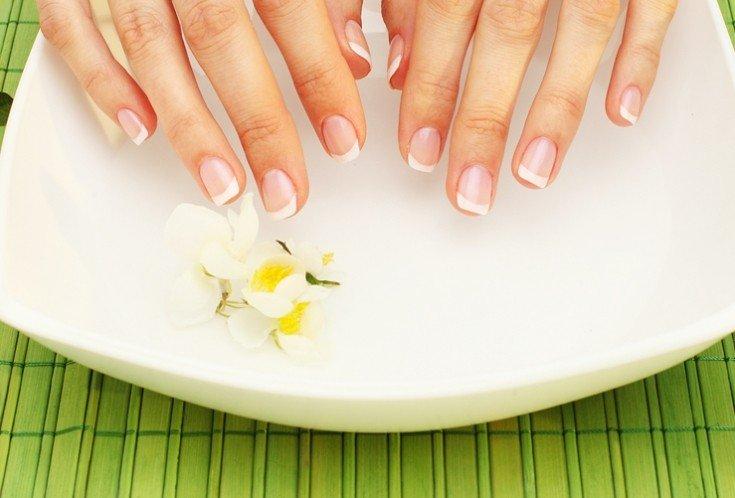 Молочно-картофельная ванночка для рук