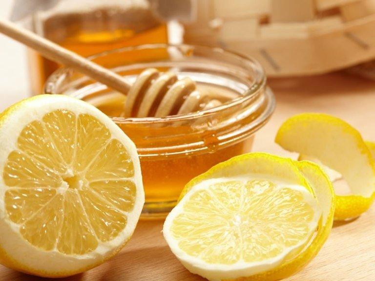 Лимон и мед для масок