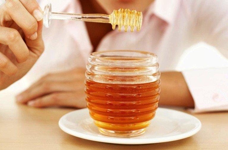 Мед в баночке