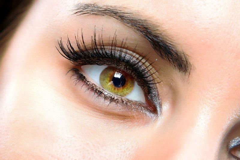 Кожа вокруг глаз, женский глаз