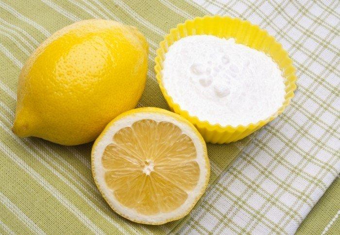 Лимон и соль для ванночки