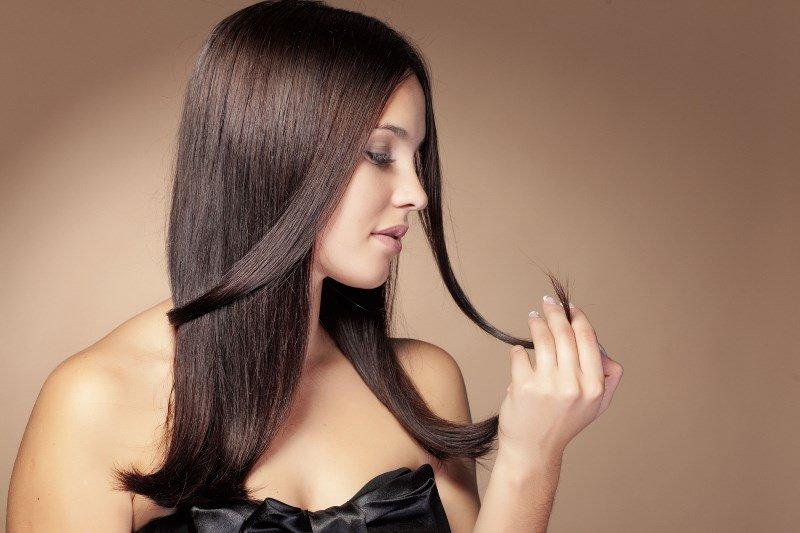 Ломкие волосы, девушка