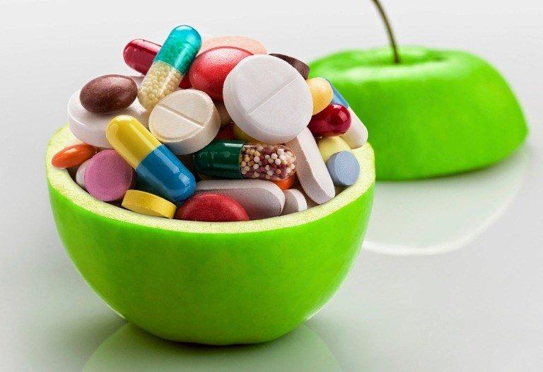 Витамины в капсулах и таблетках
