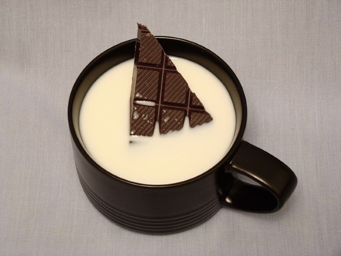 Кефир и шоколад