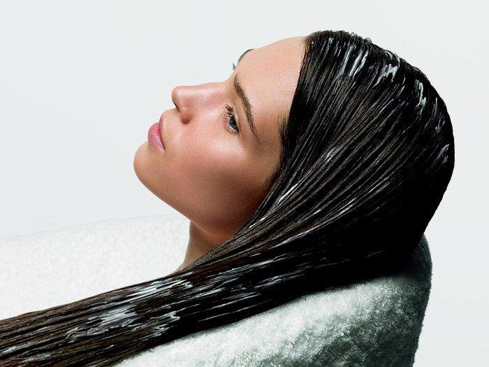 Маска с глиной для волос