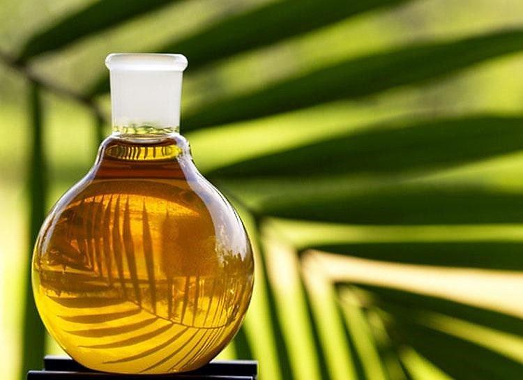 Пальмовое масло для волос