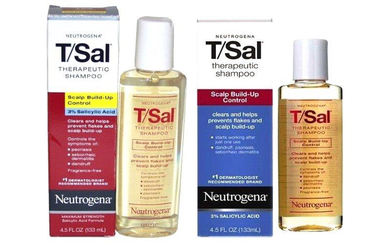 Шампунь против перхоти с салициловой кислотой Neutrogena T Sal