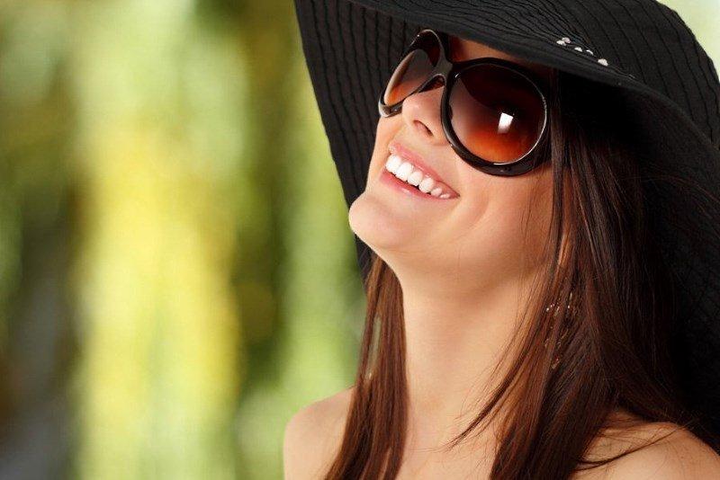 Защита кожи вокруг глаз от солнца