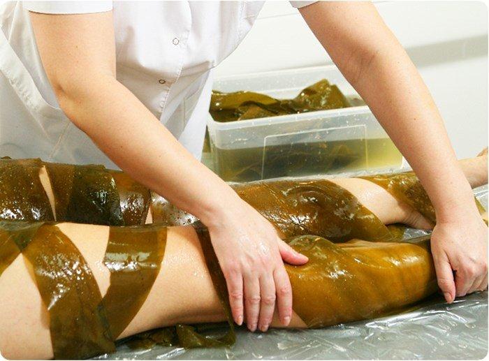 Обертывание для тела с водорослями