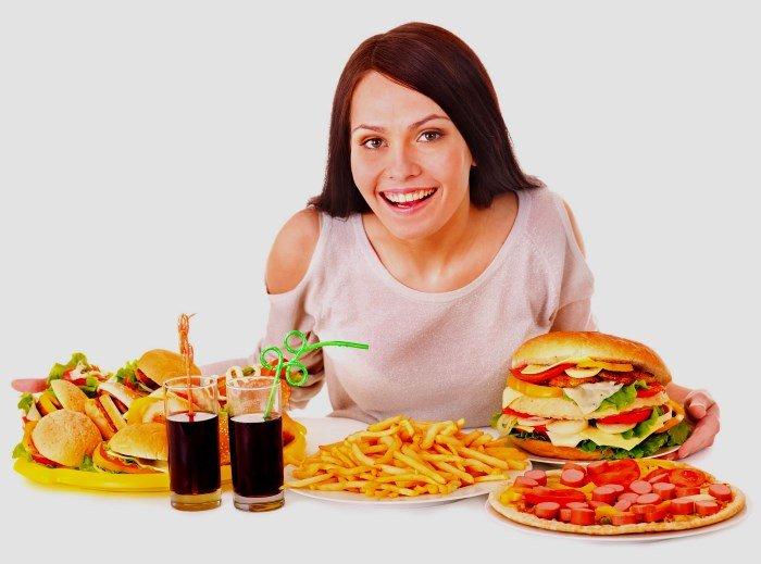 Неправильное питание – причина целлюлита
