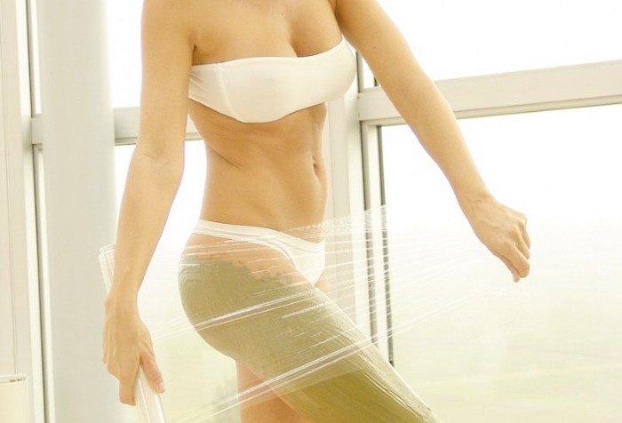 Обертывание с кремом для похудения