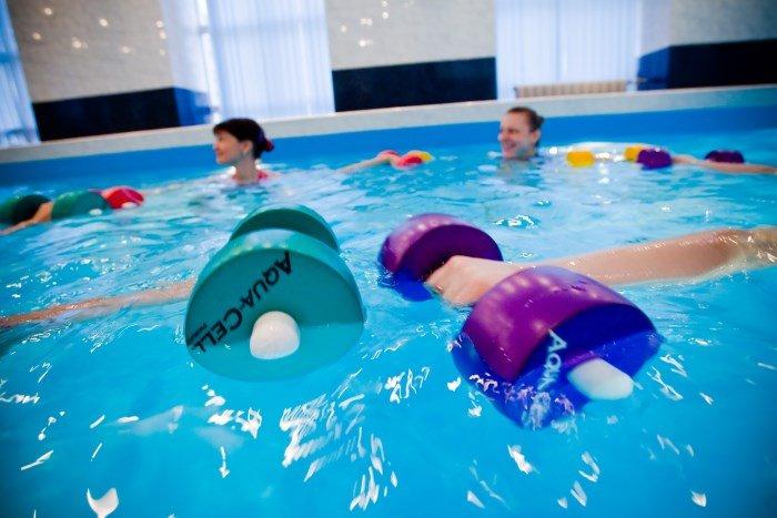 Фитнес в воде от целлюлита