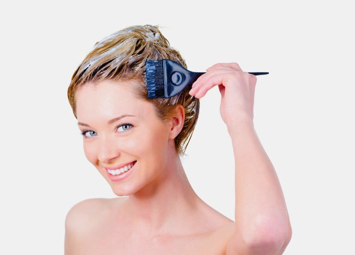 Осветление волос гидроперитом