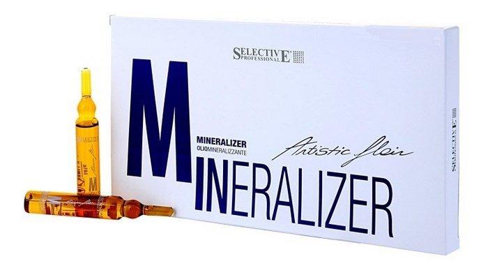 Минеральное масло для волос Olio Mineralizzante