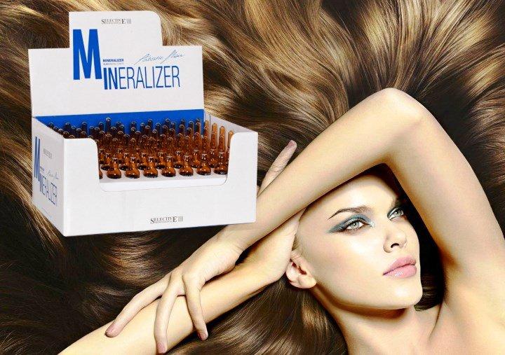 Минеральное масло для волос