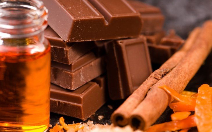 Шоколад, корица и мед