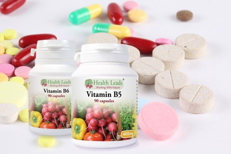 Витамины B таблетках и капсулах