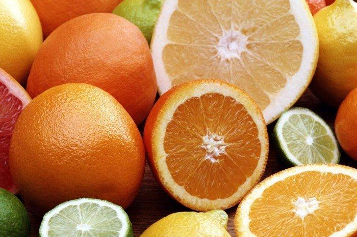 Цитрусовые: источники витамина C