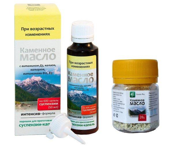 Препараты каменного масла