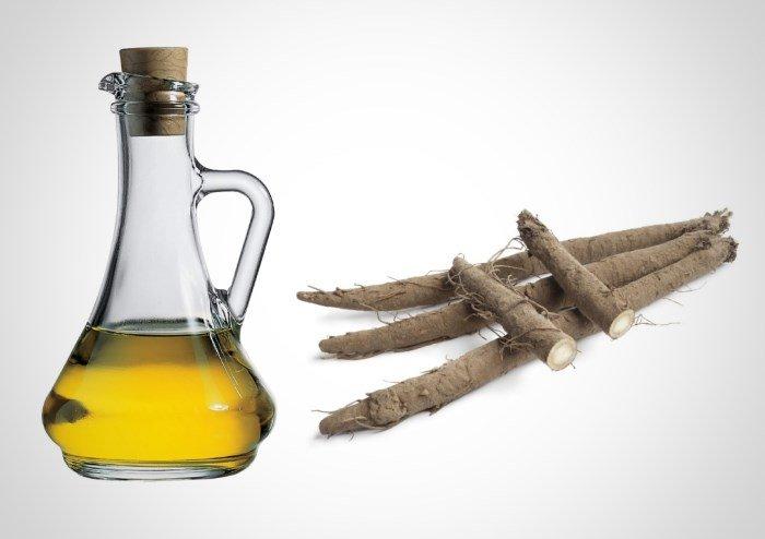 Репейное масло и корень лопуха
