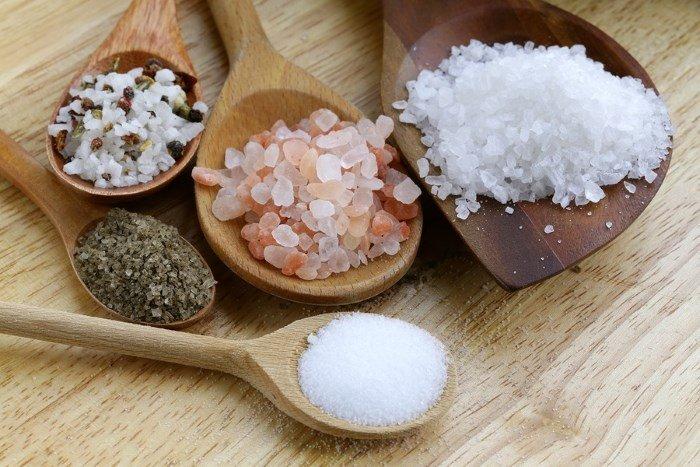 Сода и морская соль