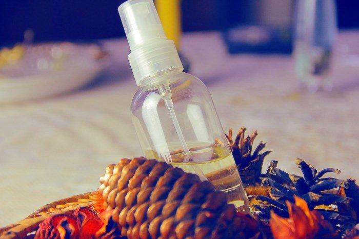 Натуральный спрей для укладки волос