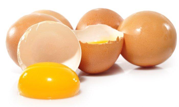 Куриные яйца, яичный желток
