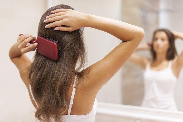 Маска для волос для легкого расчесывания