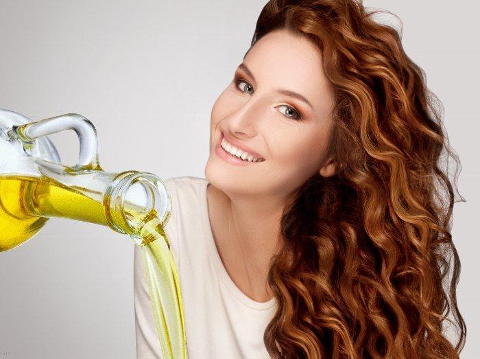 Масло для вьющихся волос