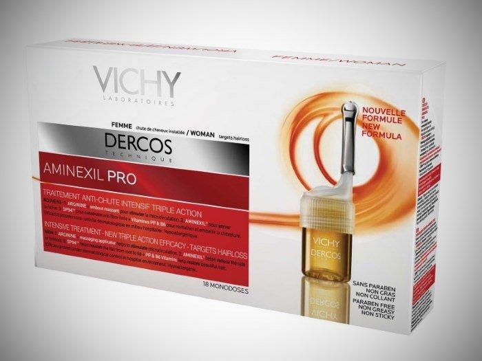 Ампулы против выпадения волос Vichy