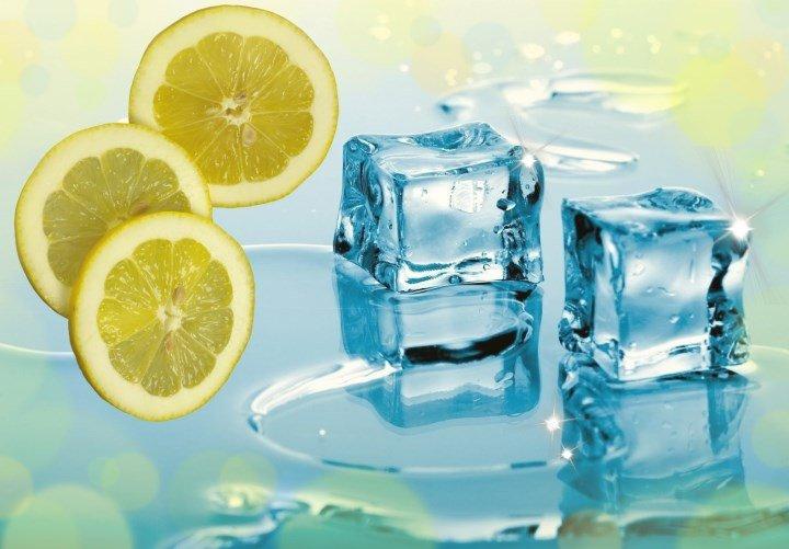 Лед с лимоном