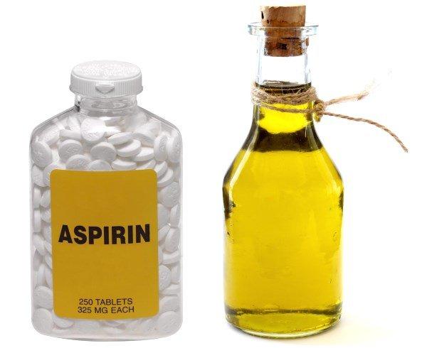 Масло и аспирин