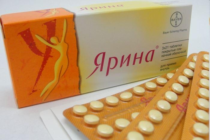 Гормональные контрацептивы: таблетки Ярина