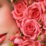 маска для лица с лепестками роз