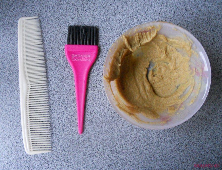 Маска с горчицей для волос
