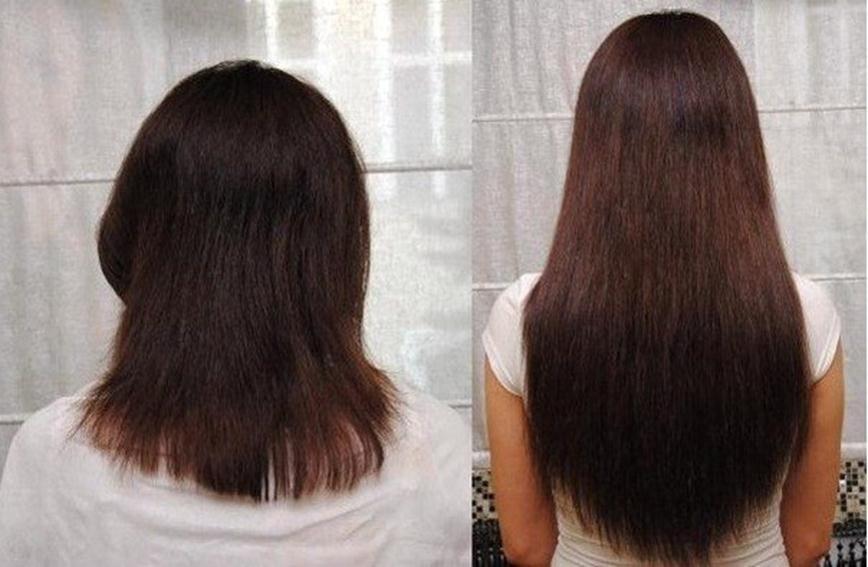 Волосы после масок с горчицы