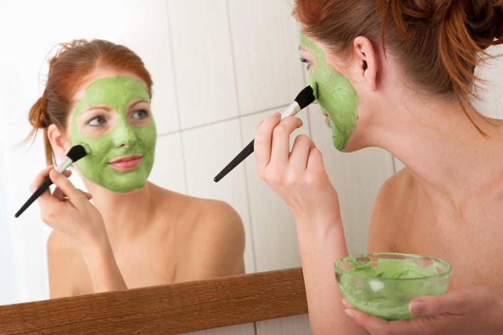Лифтинг-маска для лица из водорослей ламинарии