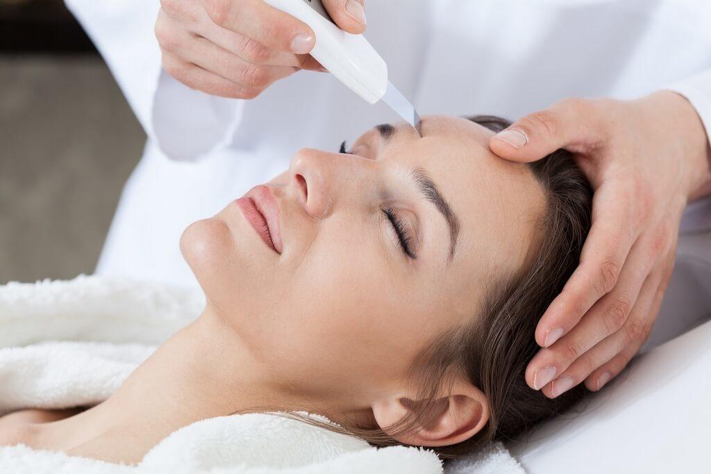 Ультразвуковая очистка — приводит состояние кожных покровов в норму
