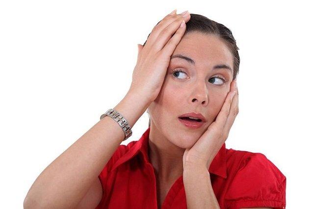 стресс как причина появления красных пятен