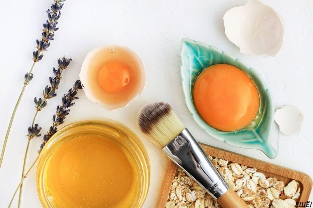 компоненты для домашней маски для волос