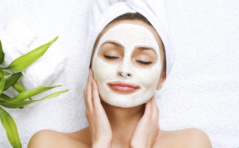 Антисептическая маска для лица с глиной