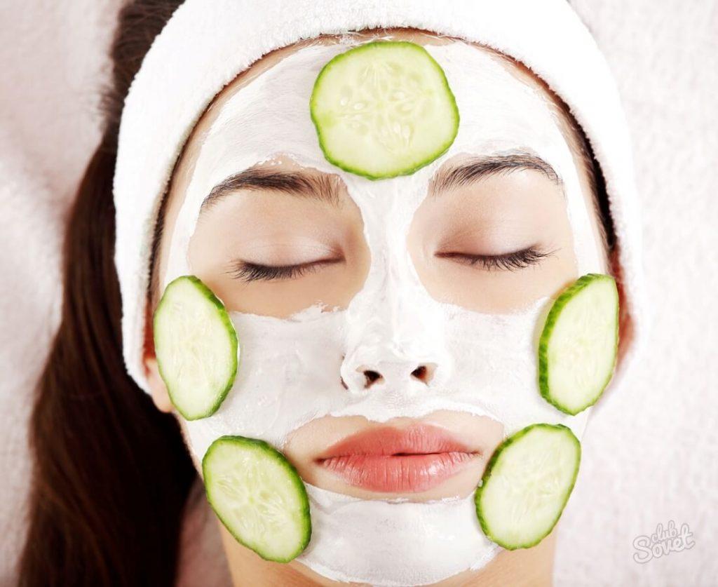 Огуречная маска для сухой кожи